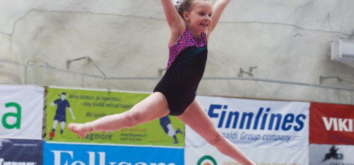 GGF firar Gymnastickveckan med öppet hus / GGF viettää Voimisteluviikkoa