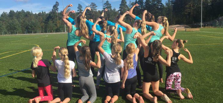 GGF:s sommarläger i redskapsgymnastik och i truppgymnastik