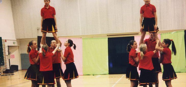 GGF genom tiderna – Cheerleading