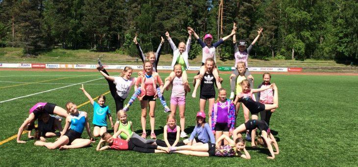 Lyckat sommarläger för redskapsgymnasterna!