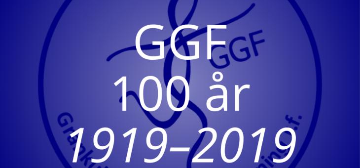 GGF fyller 100 år